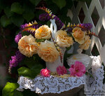 Щедрый на розы сентябрь-Viktoria Mullin