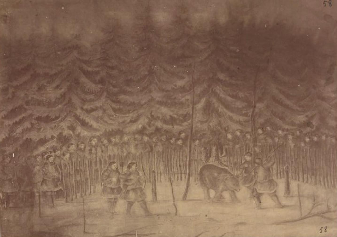 Праздник Медведя у амурских гиляков