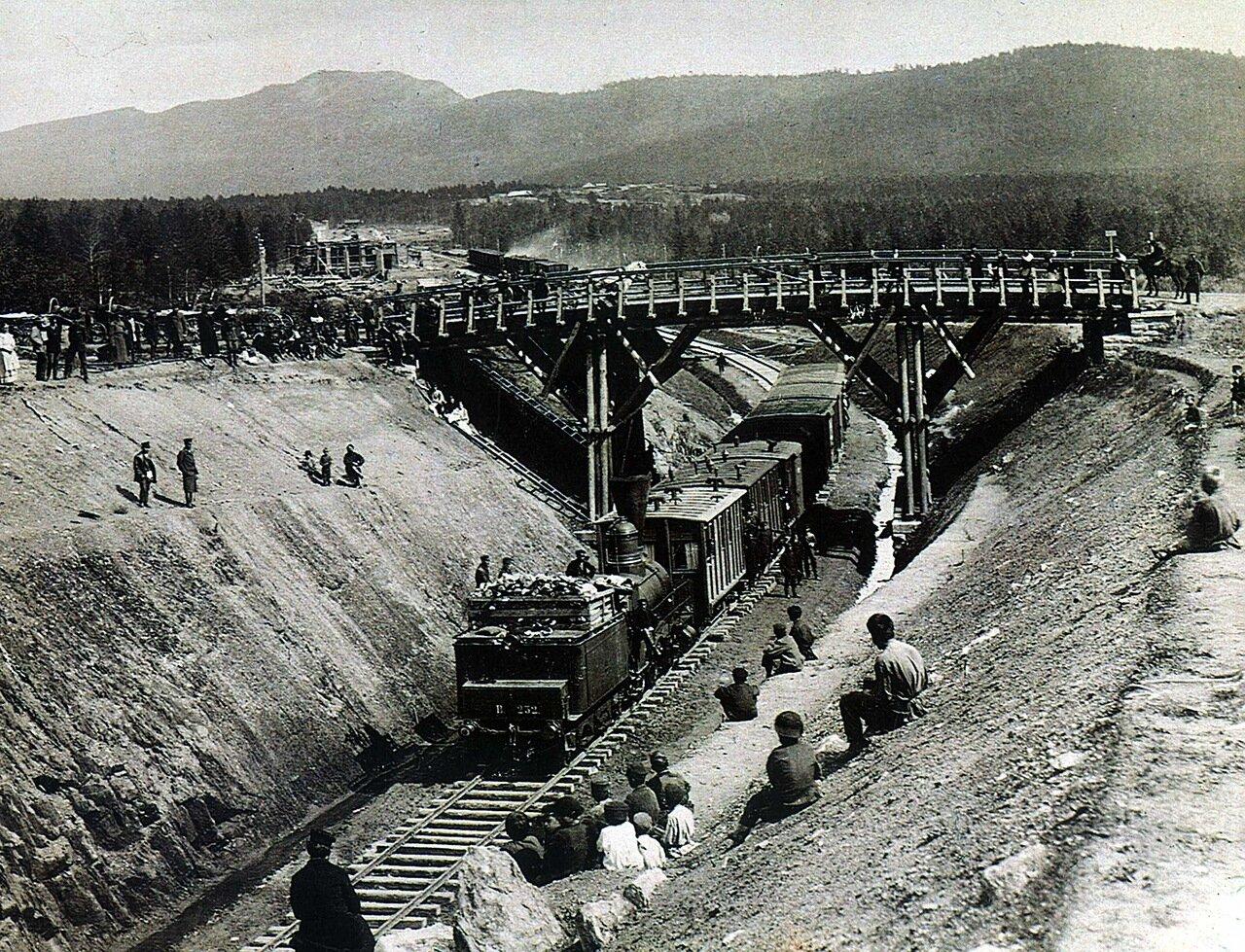 1890. Выемка ст Златоуст.