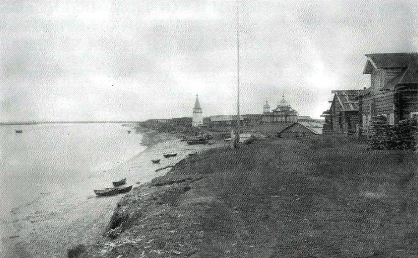 Село Долгощелье. Мезенского уезда