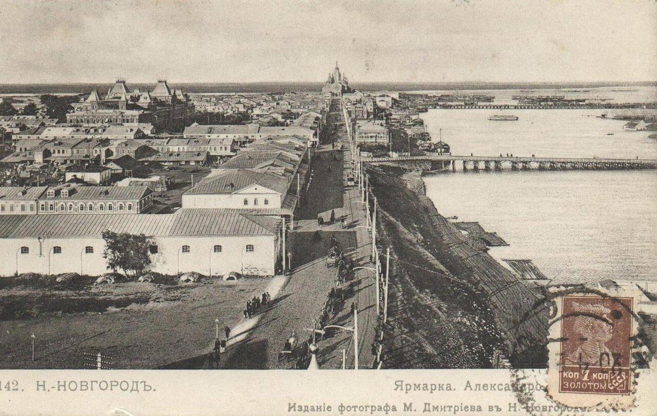 Ярмарка. Александровская улица