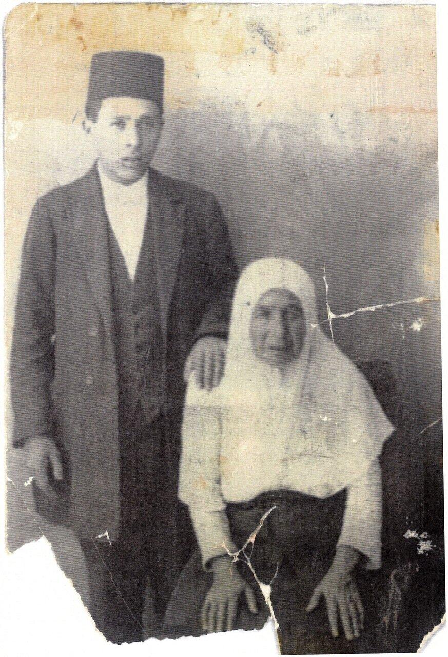 Мать и сын Наваин, Тегеран, ок. 1900