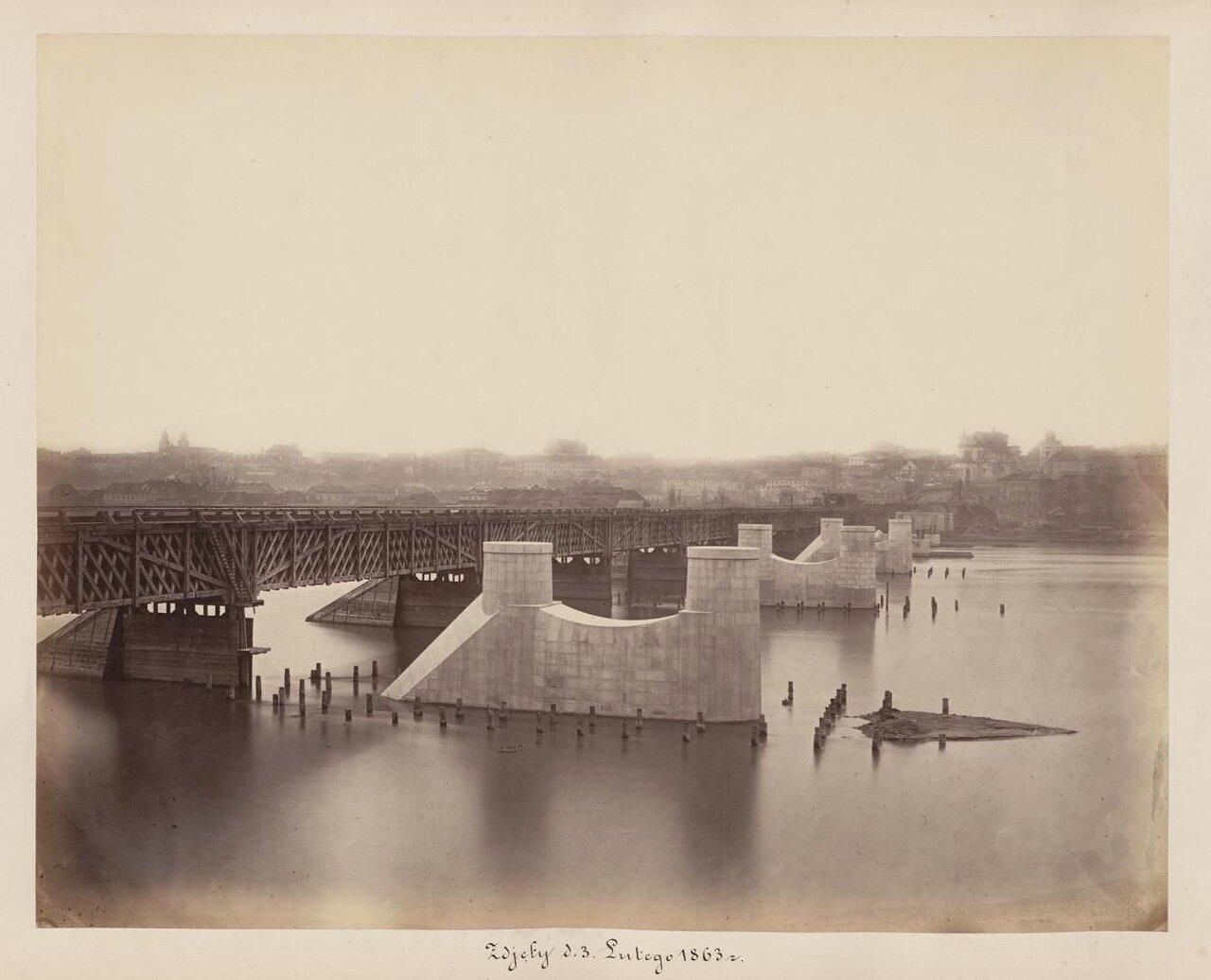 Установка быков. 1863