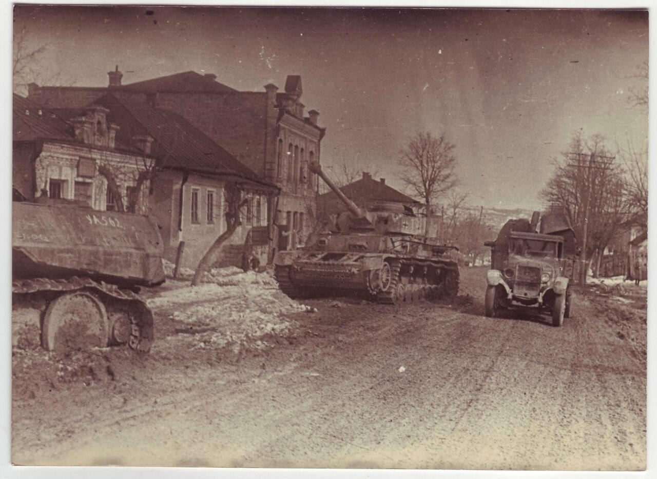 Брошенная немецкая техника, март 1944