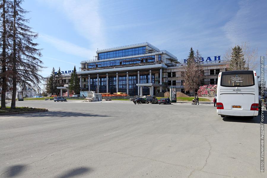 здание Казанского речного вокзала