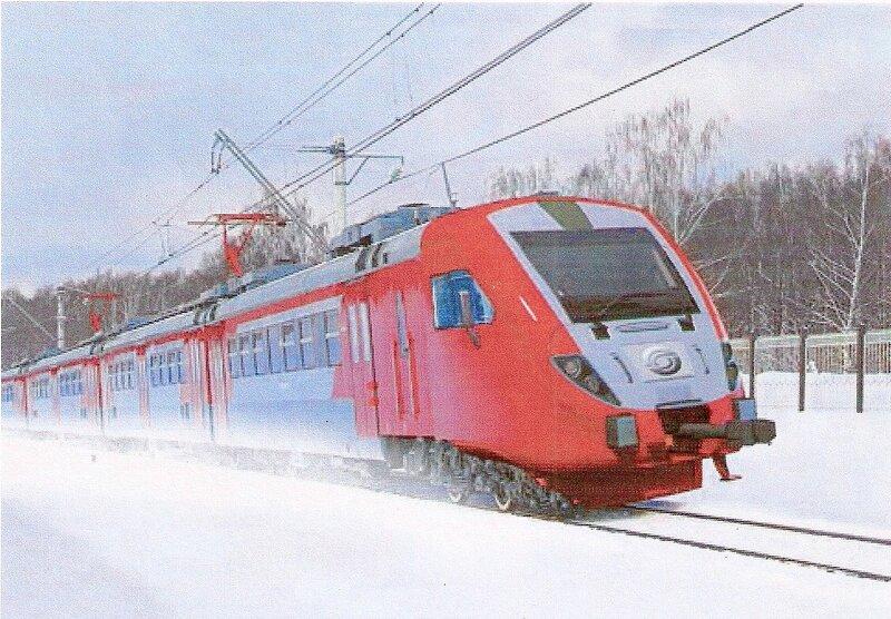 Электропоезд ЭД8 (проект).