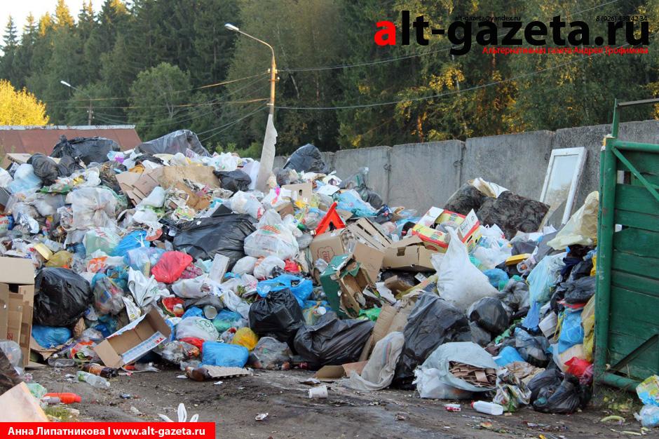 Военные городки продолжают утопать  в мусоре