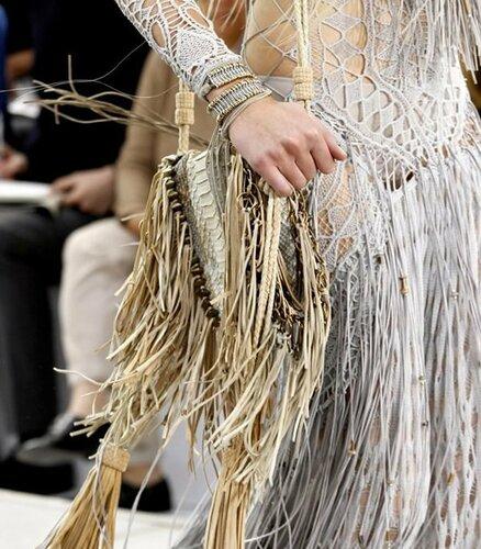 Вещи сплетенные вручную: модно в этом году