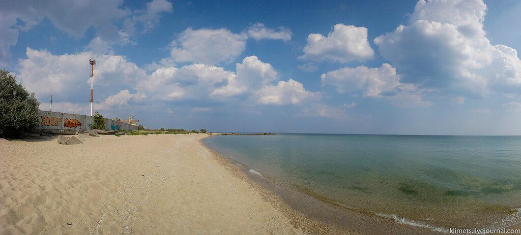 Городской пляж Ильичевска