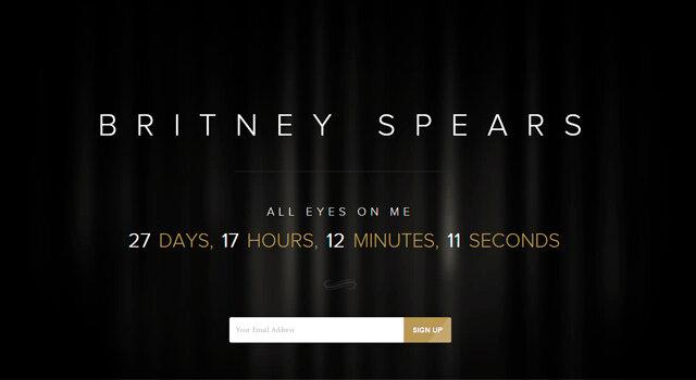 Официальный сайт Бритни Спирс - закрыт