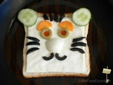 Креативные... бутерброды