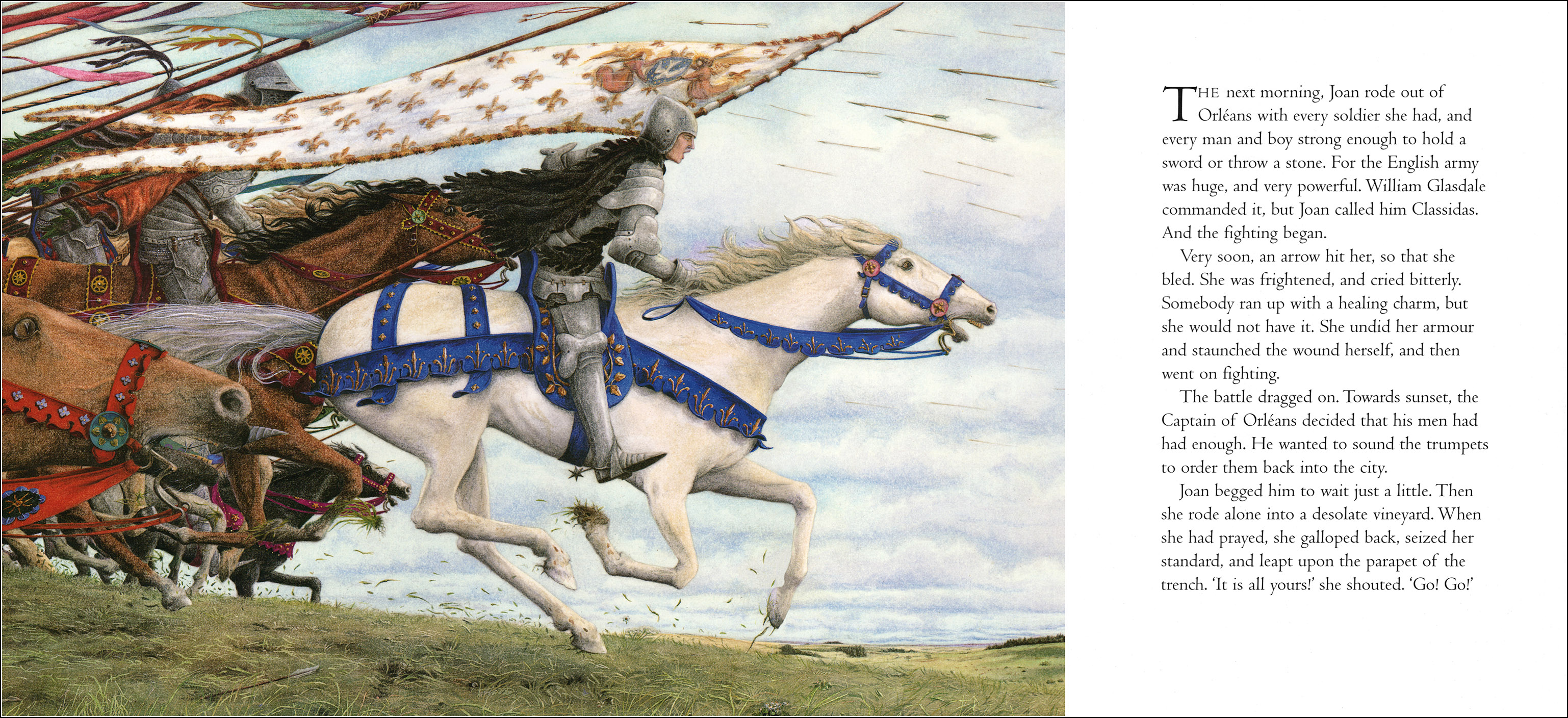 Angela Barrett, Joan of Arc
