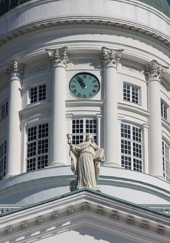 Helsinki. Senate square. Cathedral