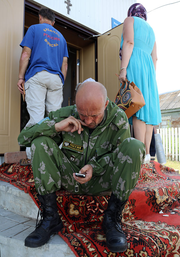 в селе Алакаевка........