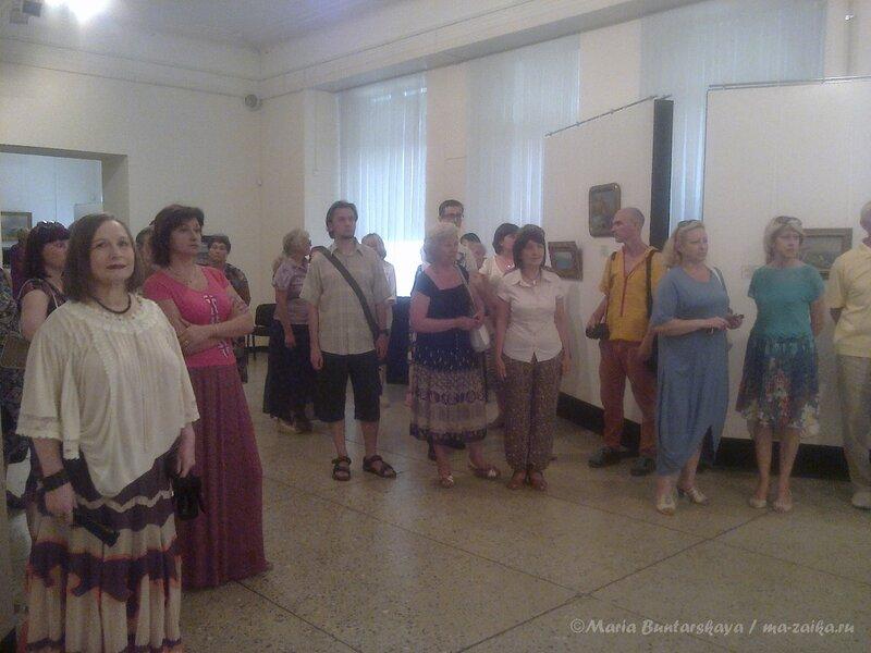 Выставка 'Море, солнце, Крым', Радищевский музей, 15 августа 2013 года