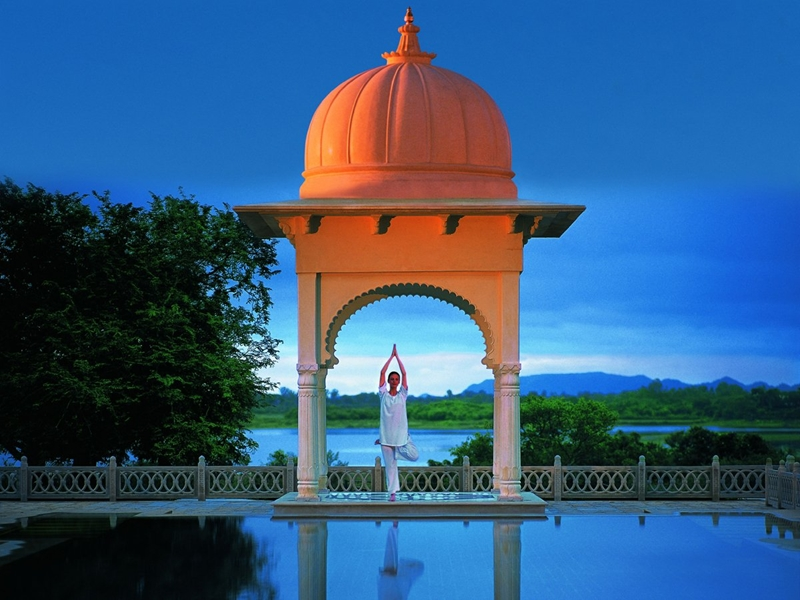 Отель Oberoi Udaivilas-самый шикарный отель в Индии