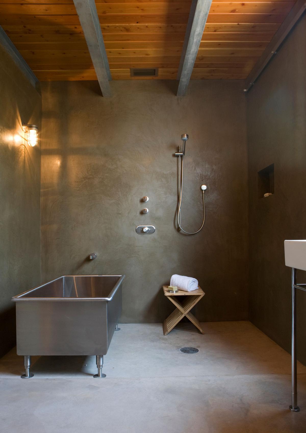 Mell Lawrence Architects, дом на берегу озера, однообъемный интерьер, потрясающий вид из окон частного дома, дома в Техасе, экологичный дом