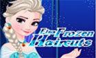 Эльза Зимняя причёска игра Холодное Сердце