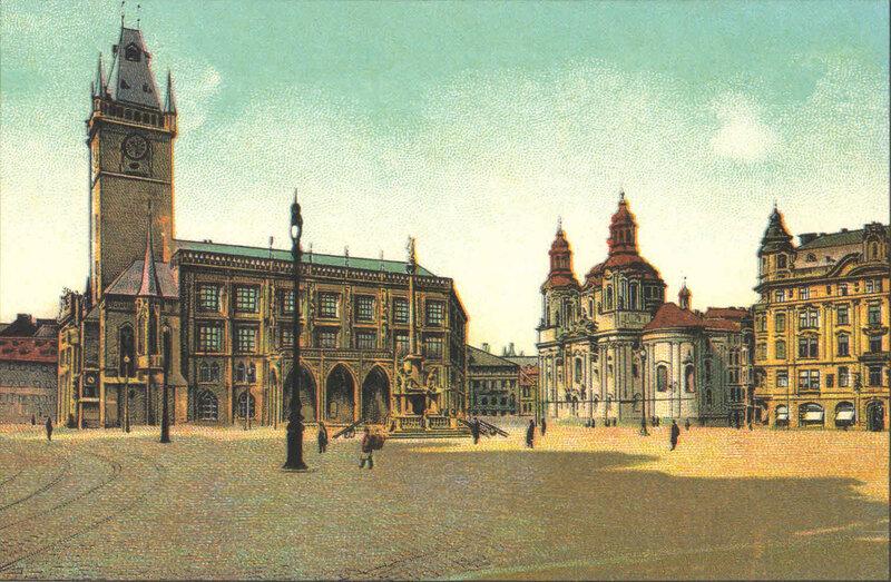 4. Староместская площадь. ~ 1900 год