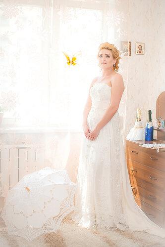 сборы невесты, фотограф