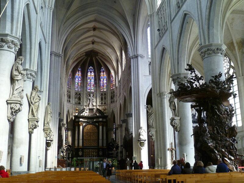 Собор Святого Румольда в Мехелене, Бельгия (Sagrada Rumolda in Mechelen, Belgium)