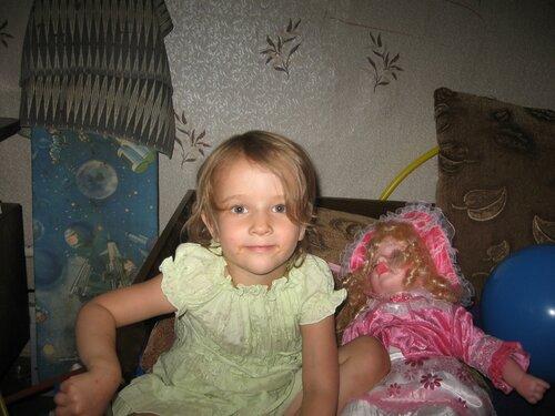 С новой куклой