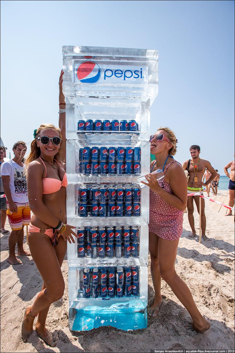Сладкая халявная Пепси