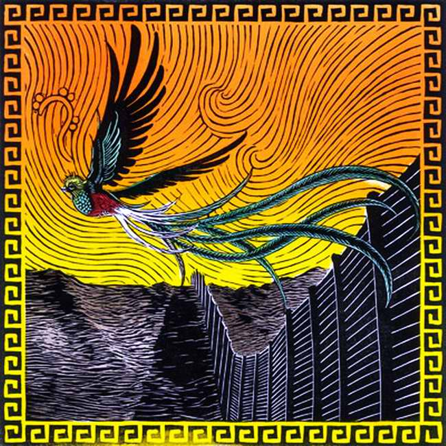 Птица Кетцаль - символ борьбы за свободу и независимость (Fernando Marti)