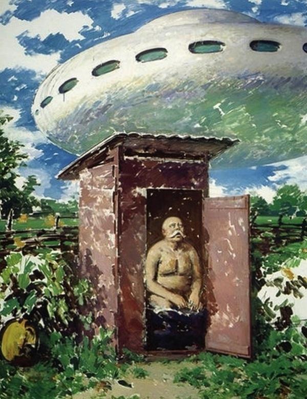 Инопланетное вторжение по версии киевского художника Василия Цаголова