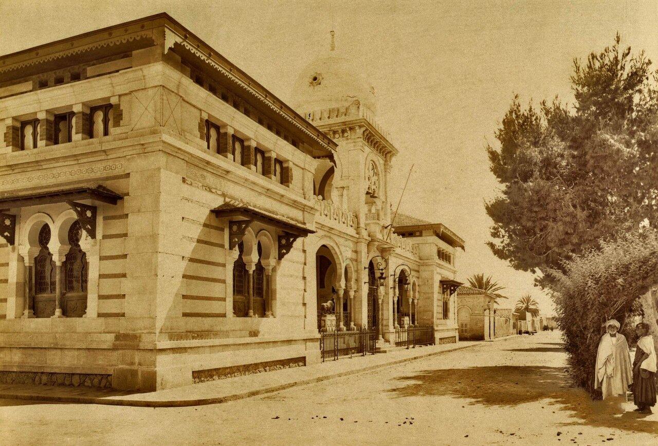 1860-1890. Алжир. Ратуша