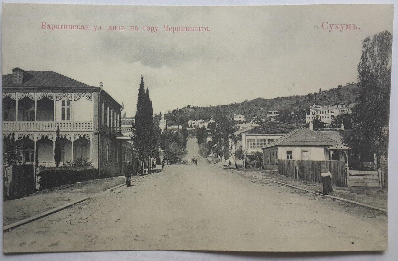 Барятинская улица. Вид на гору Чернявского