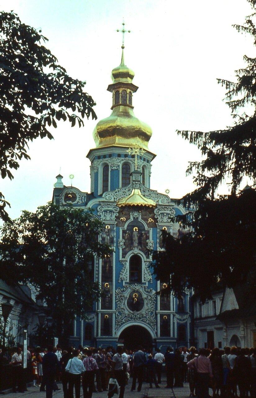 1. Троицкая   церковь  Киево-Печёрской  павры