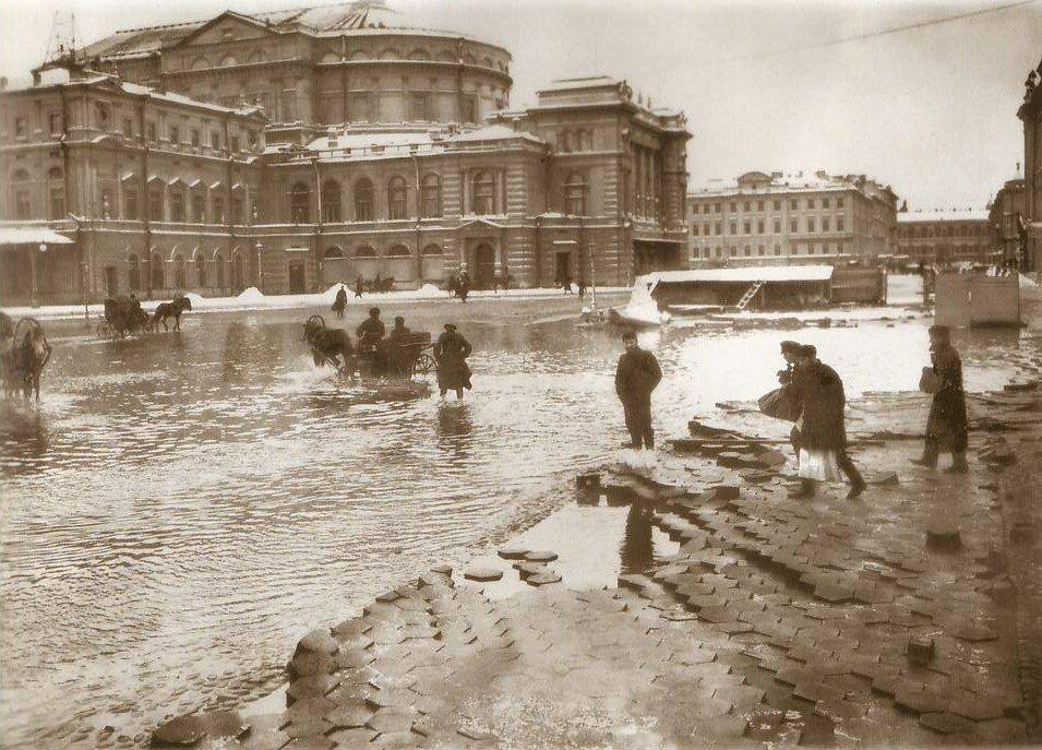 Мариинский театр, наводнение