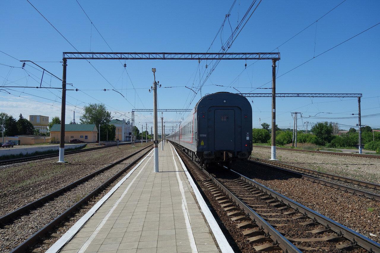 мой последний вагон поезда №001 Мск-Белгород