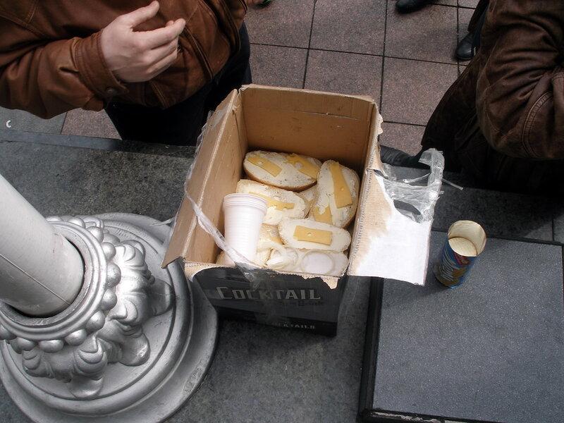 бутерброды от первой киевской сотни
