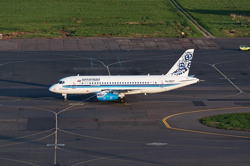 Сухой SSJ-100-95B Superjet 100 (RA-95021) Московия D804746
