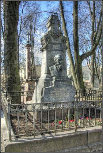 Надгробие. Ф.М. Достоевский.