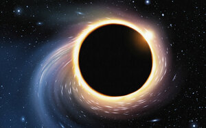 Черные дыры могут поглощать объекты без вреда для них