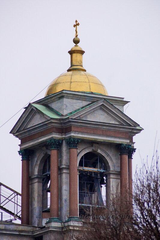 Южная колокольня Исаакиевского собора (собор преподобного Исаакия Далматского), Санкт-Петербург