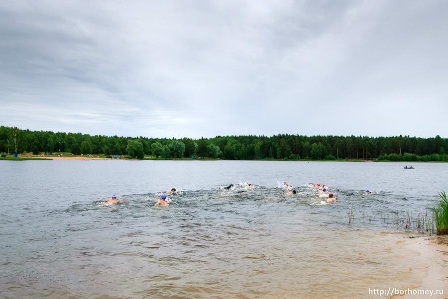 триатлон - плавание