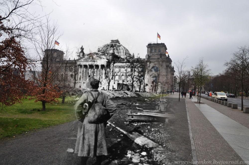 23 Берлин 1945-2010. Солдат-победитель у Рейхстага..jpg