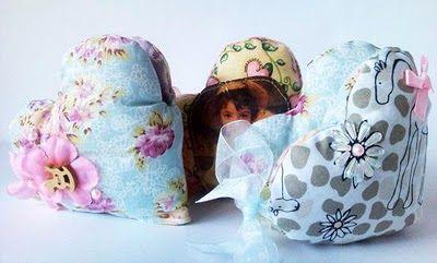 Поделки и игрушки из ткани