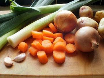 Овощи для картофельного супа