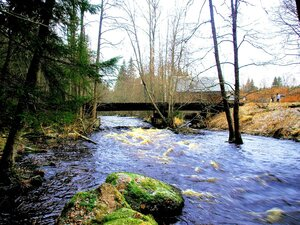 Мост над Чёрной речкою