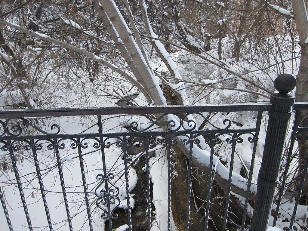 Еще один вид с моста на Громатуху (19.03.2014)