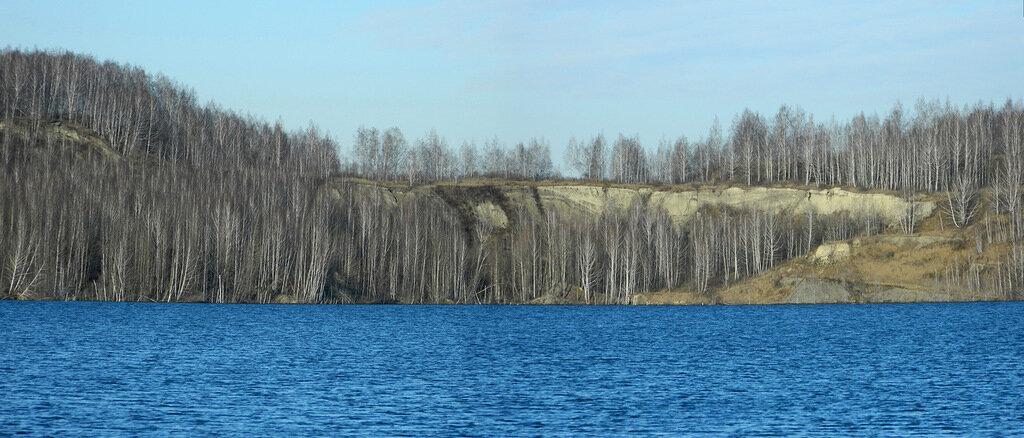 Панорамный вид Зеркального карьера (19.03.2014)