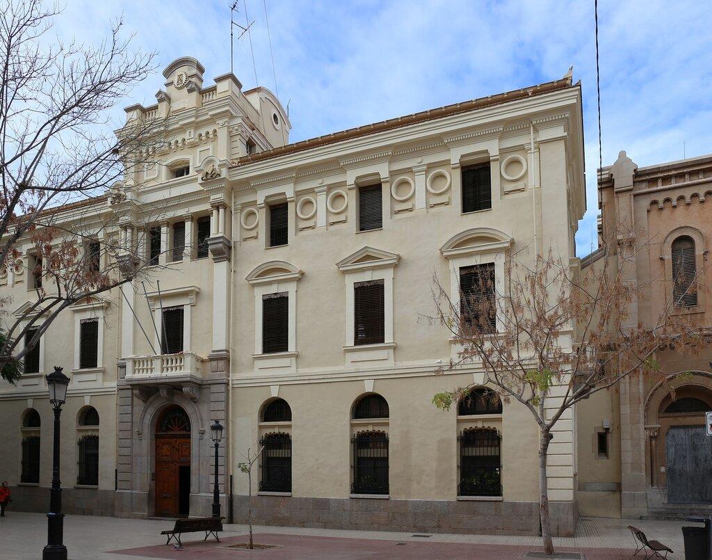 Кастельон-де-ла-Плана.  Школа благочестия. Colegio Escuelas Pías. Castellón de la Plana.