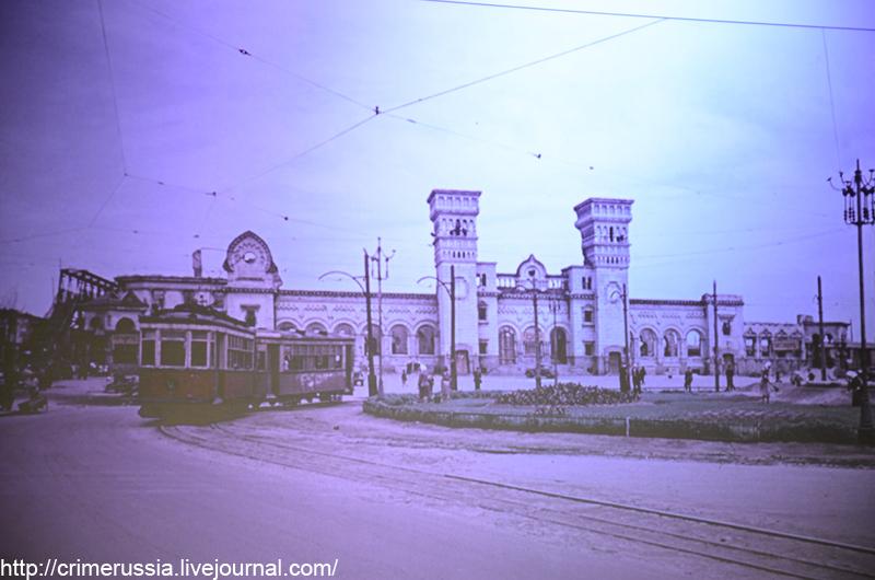 здание вокзала днепропетровск старый вариант