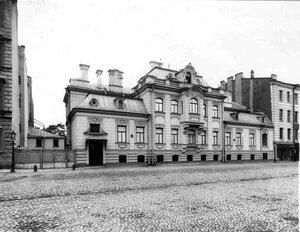 Общий вид особняка И.Д.Бонштедта (архитектор В.В.Шауб, 1898-1899).
