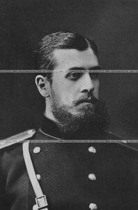 Офицер бригады в сюртуке (портрет).